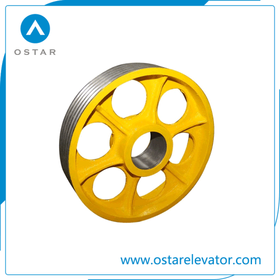 Elevator Parts with Cheap Price Cast Iron, Nylon Deflector Sheave (OS13) pictures & photos