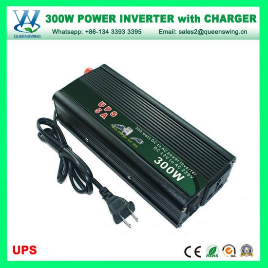 Pure Sine Wave Power Inverter 300 W DC 12 V DC à 240 V AC off grid solar power