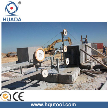 Wire Saw Machine for Stone Block Squaring (DWSG-11A-6P)