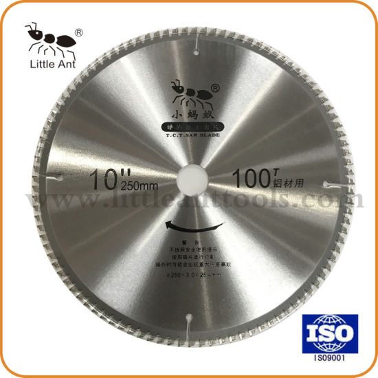 Hard Alloy Round Sawing Discs for Cutting Alluminum