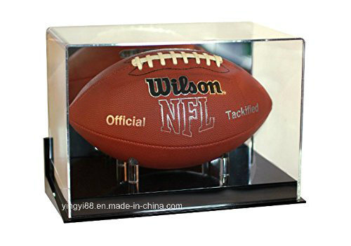 UV Protection Acrylic Football Display Case pictures & photos