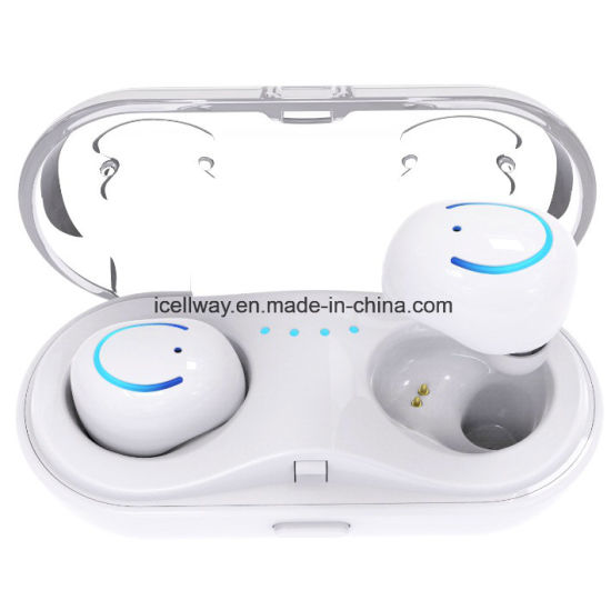 f3579965bd5 China New Tws Bluetooth Earbuds in-Ear Wireless Double Headset Hbq ...