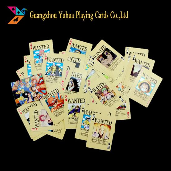 China Oem Anime Birthday Cards Game Cards Merchandise For Promotion