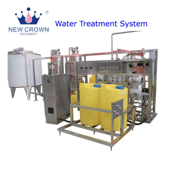 Customized 20000lph Mineral Water Treatment Equipment