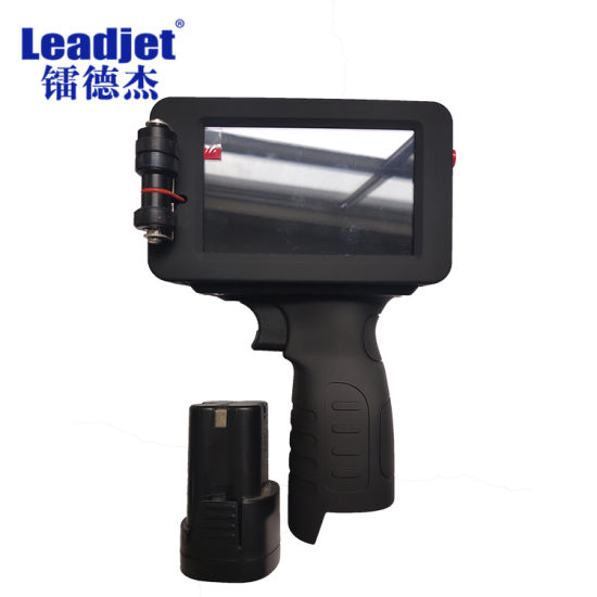 Leadjet Hand Held Pipes Inkjet Printing Machine