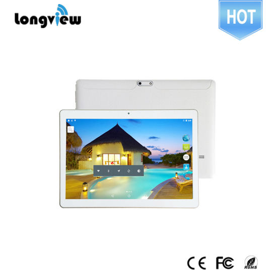 10 Inch WiFi 3G Tablet PC Mtk Helio X20 Tablet with Dual SIM Card Slot Phablet