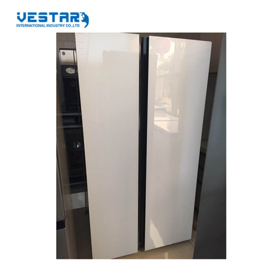 PCM Bcd-612W Side by Side Refrigerator Freezer with Ce Certification Made in China pictures & photos