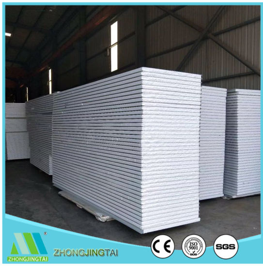 Insulated EPS Sandwich Exterior Wall Sandwich Panel for Temporary House