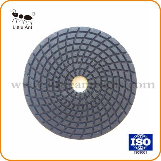 "4/"" Diamond Polishing Pads Disc Wet//Dry Granite Concrete"