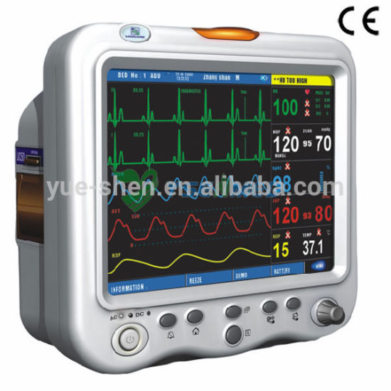 Ysf3 Hospital Equipment Cheap Adult Pediatric Medical ICU Patient Monitor pictures & photos