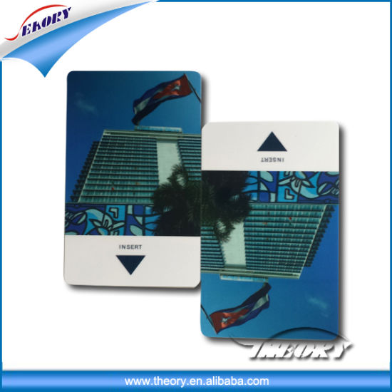 High Security Classic 1K FM08 Printing Plastic PVC RFID Card pictures & photos