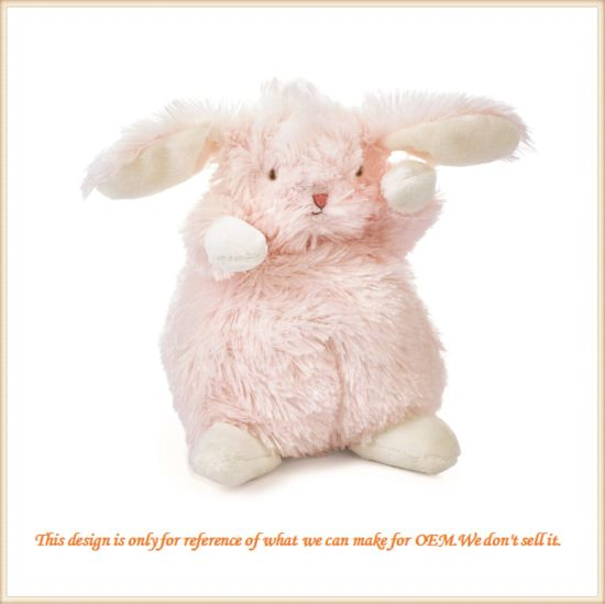 Cute Bunny Fluffy Toys Sweet Pink Bunny Doll pictures & photos