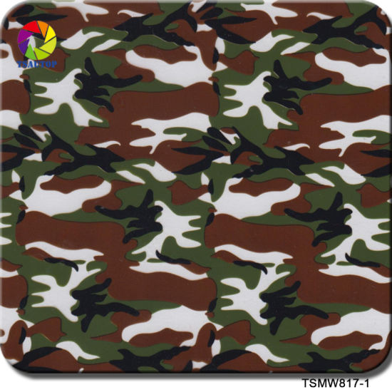 Tsautop 0 5m Width Military Camo Hydro Dipping Supplies for Hydro Dipping  with Spray Paint