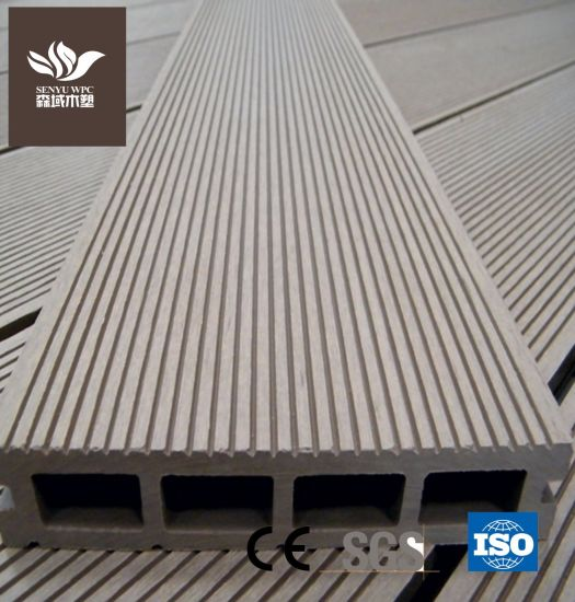 Outdoor WPC Wood Plastic Composite UV Resistance Decking Board for Flooring