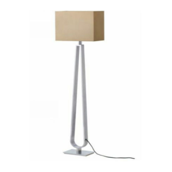 Contemporary Hotel Bedside Standing Light Floor Lamp
