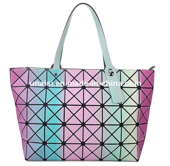 ae8fb2272277 China Hologram Laser PU Horizontal Ladies Shoulder Shoulder Handbag ...