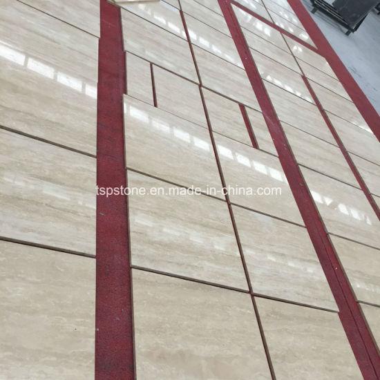 White Beige Coffee Travertine Tile for Floor Tile & Wall Tile