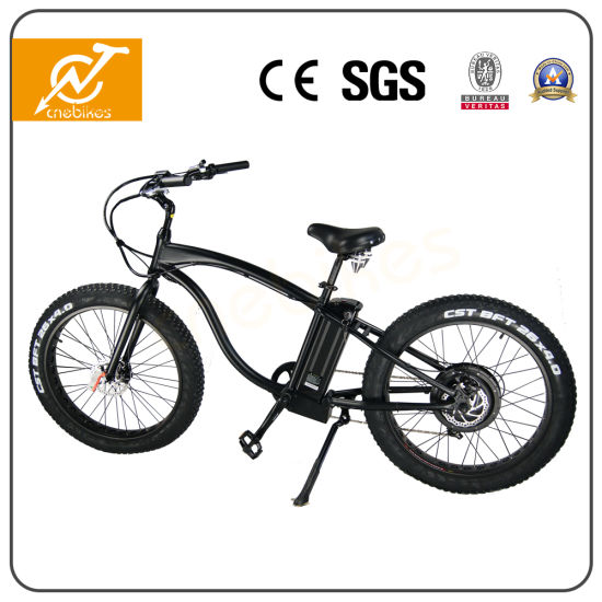 China Cool Design 26x4 500w Electric Fat Bikes For Sale China