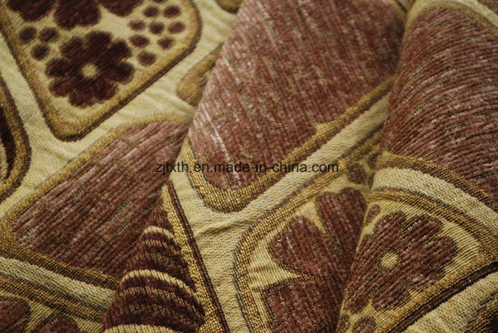 Polyester Yarn Dye Chenille Fabric for Sofa pictures & photos