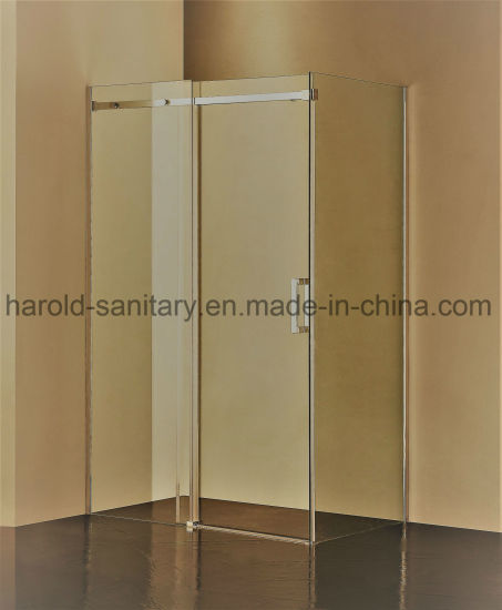 8-10mm Frameless Stainless Steel Sliding Shower Door pictures & photos