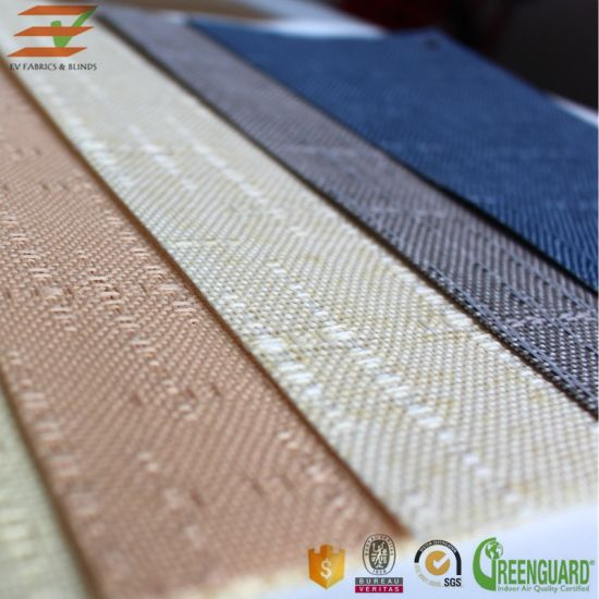China Vertical Blind Blackout Fabric 127mm High Quality Best Sale