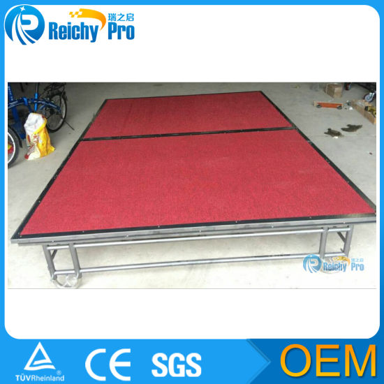 Folding Stage Portable Stage Mobile Outdoor Stage Aluminum Stage Hotel Stage