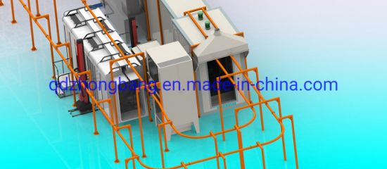 Automatic Powder Coating Production Line for Auto Spare Parts