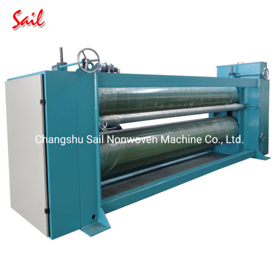 Non Woven Polyester Wadding Iron Heating Machine