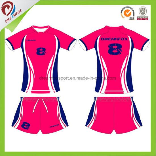 China Volleyball Team Wear Uniforms Custom Design Latest Volleyball