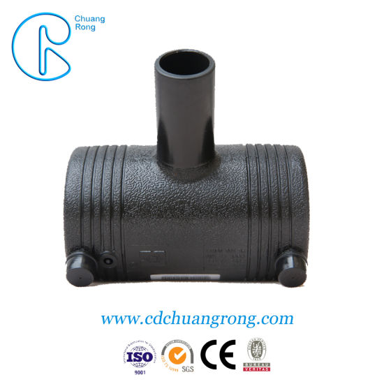 HDPE Plastic Electrofusion Oil Pipe Fitting Tee pictures & photos