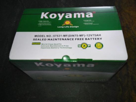 Cycle Suits Battery Koyama Auto Batteries Lead-Acid Batteries for Electric Bike pictures & photos