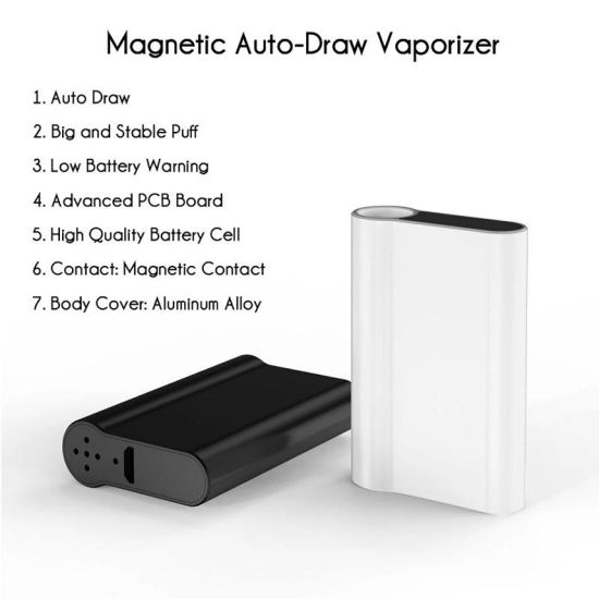 [Hot Item] Vaporizer Vape Pen Cartridge Magnetic Thread Adapter Thc Vape  Battery