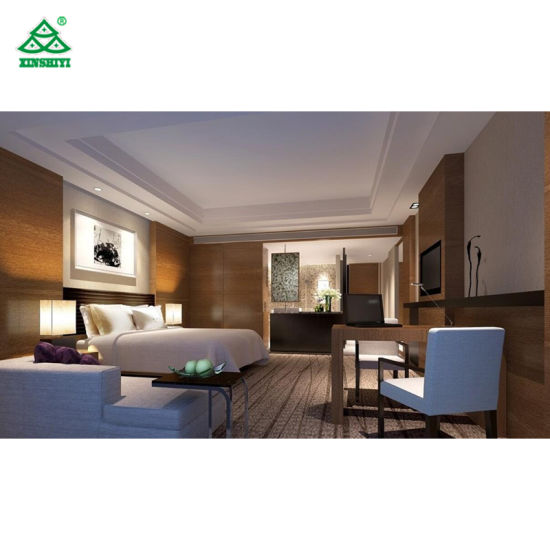 Comfortable Design Hotel Bedroom Furniture Sets Contemporary Wood Hospitality Furniture