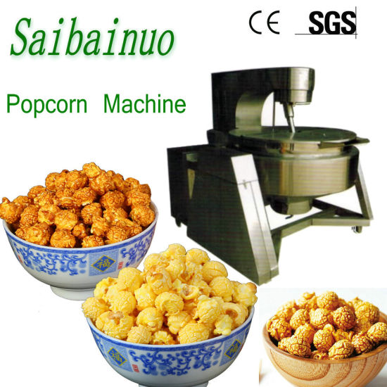 Automatic Industrial Popcorn Machine