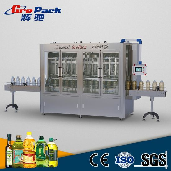 Automatic Edible Olive Cooking Oil Bottle Filling Machine