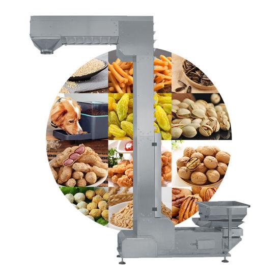 Bulk Material Handling Grains Chain Z Bucket Elevator in Food