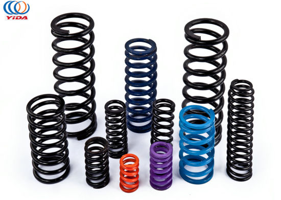 Hot Selling Colors Plated Heavy Duty Carbon Compression Springs for Chair