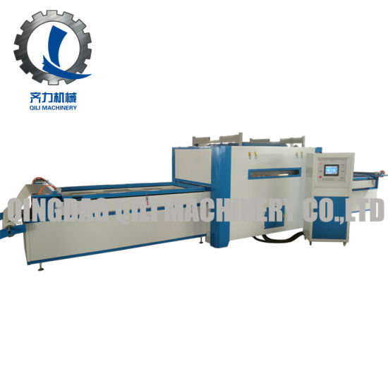 Vacuum Profile PVC Membrane Press Machine for Woodworking