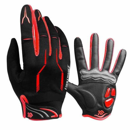 Full Finger Unisex Outdoor Touchscreen Winter Cycling Polyester Motorcycle Glove