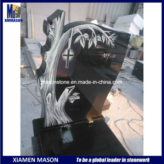 European Tree Design Headstones for Sale