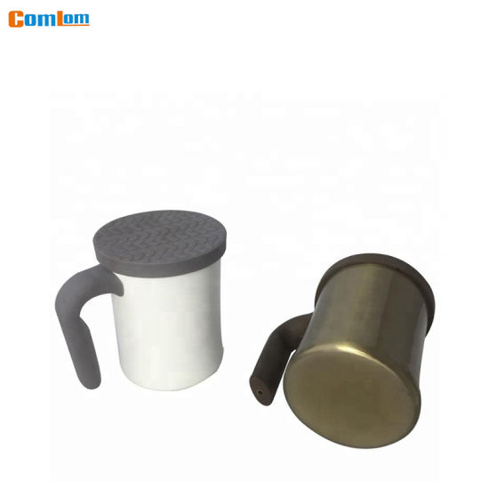 350ml Silicone Lid Office Mug pictures & photos