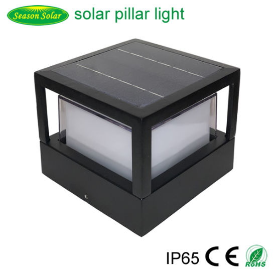 New Style Solar Energy LED Lighting Lamp Outdoor Garden Lighting Solar Pillar Light