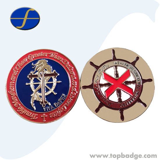 3D Effect Decoration Metal Challenge Coin for Promotional Gift