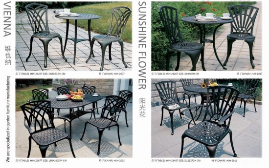 Europe Style Outdoor Tables Outdoor Furniture Garden Table Patio Furniture pictures & photos
