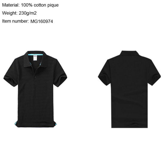 949a4d0be Custom/Customized Clothes/Clothing Plain/Blank/Stripe T-Shirts Printed/Embroidery  Apparel/Garment 100% Cotton Pique/Jersey Dress Men′s Golf Polo Shirts