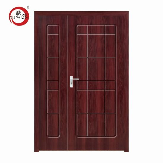 China Factory Primed Inn Wooden Double Door Designs For Houses In Kerala