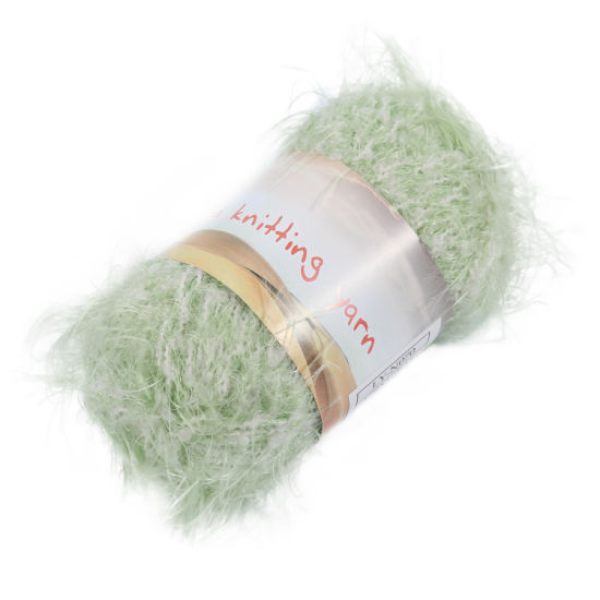 Melange Colored Nylon Fancy Fur Yarn pictures & photos