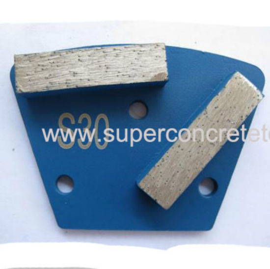 Two Bar Double Segment Diamond Grinding Shoes pictures & photos