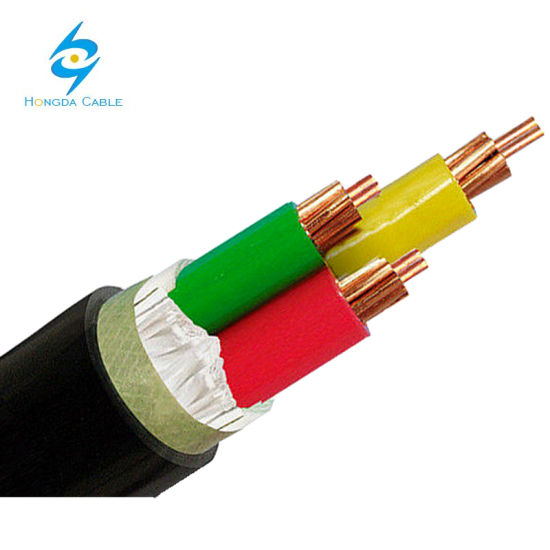 Fire Resistant PVC Underground Copper Industrial Electrical Cable and Wire 3 X 25mm2 pictures & photos