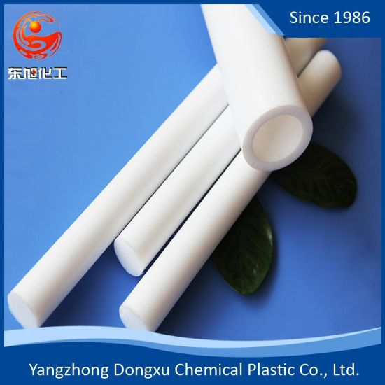 100% Virgin Large Diameter Hose PTFE Teflon F4 Extruded Tubes Plastic Tubing Insulation Materials Pipes
